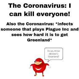 ugandanknuckles virus meme freetoedit greenland