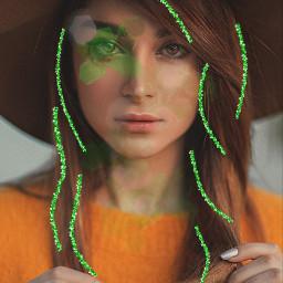 freetoedit greenglitterbrush stpatricksday