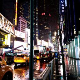 photography nightlife newyork broadway lights