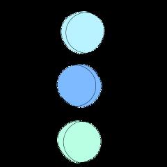 aesthetic circle circles colors blue freetoedit