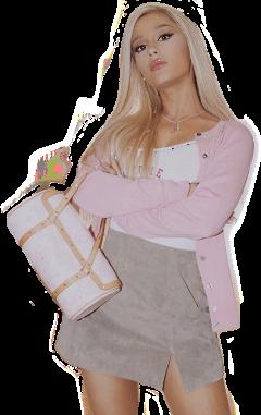 arianagrande ari thankunext arianator pink freetoedit