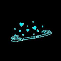 freetoedit heartcrown blueaesthetic blue heart