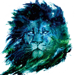 lion galaxy leo zodiac sky freetoedit