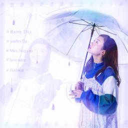 永野芽郁 雨 傘 ziplock rainyday