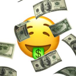 freetoedit emotion emojiiphone money moneyemoji