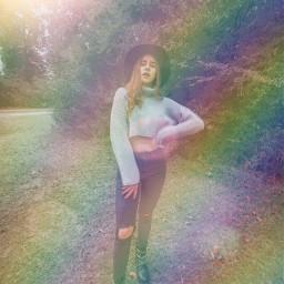 rainbow sunlight sunlighteffect rainbowstroke freetoedit