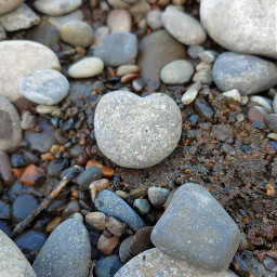 rocks heart love lookdown adjusttool freetoedit