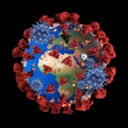 freetoedit coronavirus covid-19 earth epidemic