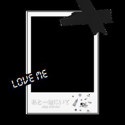 overlay edit polaroid aesthetic black freetoedit