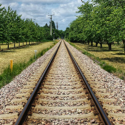 freetoedit railway clouds nature photography