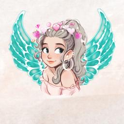 angel virial girl freetoedit