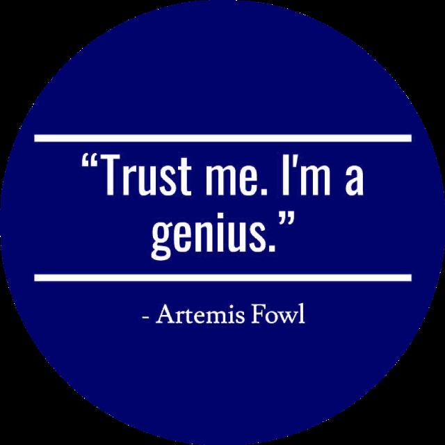 #artemisfowl #eoincolfer #quote #blueaesthetic #darkblueaesthetic #freetoedit