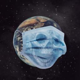 freetoedit earth hysteria toxic mask