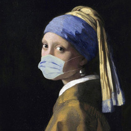 freetoedit painting girl painter corona