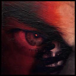 eye man intense seductive darkart freetoedit