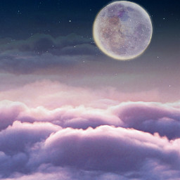 freetoedit clouds moon backgrounds background