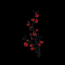 tree flower red nature freetoedit