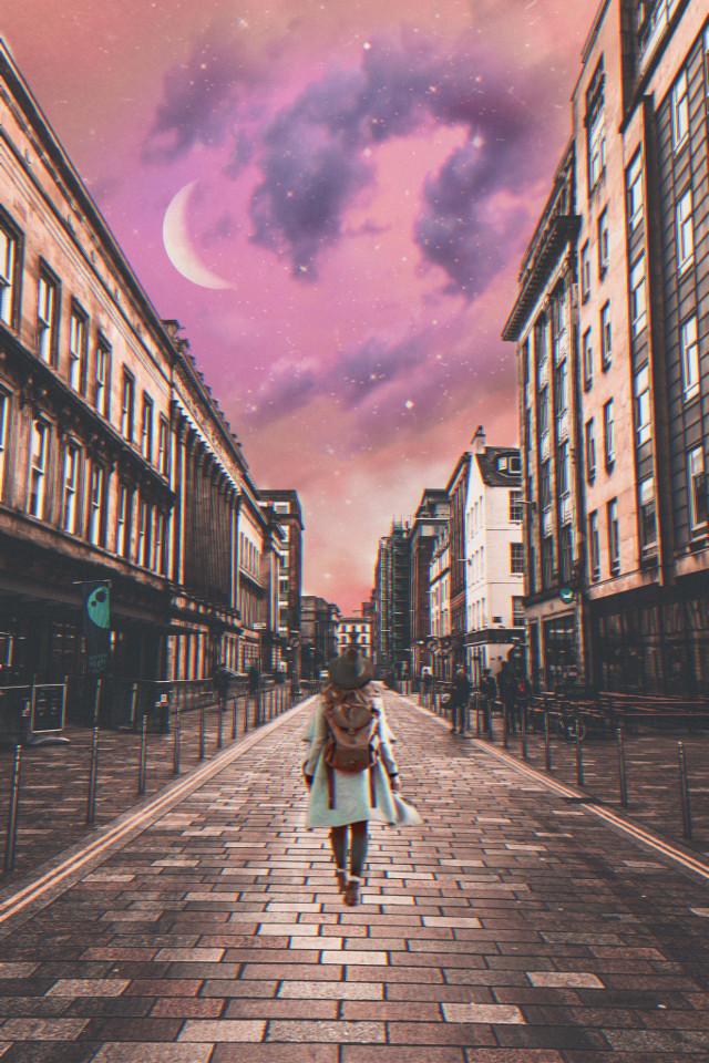 #freetoedit #city #women #simple #clouds #sky #travel #urban #backgrounds #remixit #editbyme