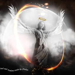 angel wings golden glitter good freetoedit