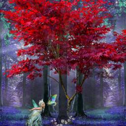 freetoedit myedit madewithpicsart remixed forest