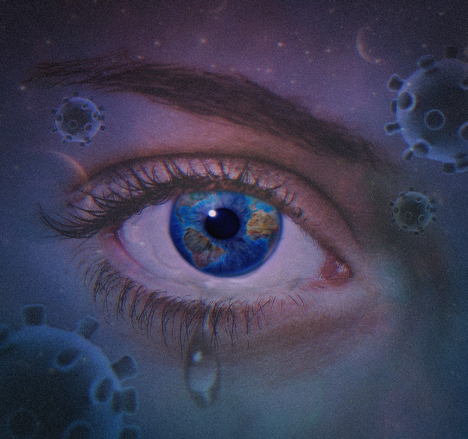 😷   #freetoedit  #virus  #coronavirus #covid19 #protection  #planet  #space  #universe  #imagination  pandemic  #eye
