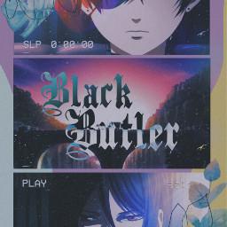 freetoedit kuroshitsuji blackbutler japan anime