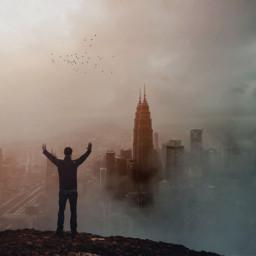 freetoedit surreal farfromworld cityscape manipulation