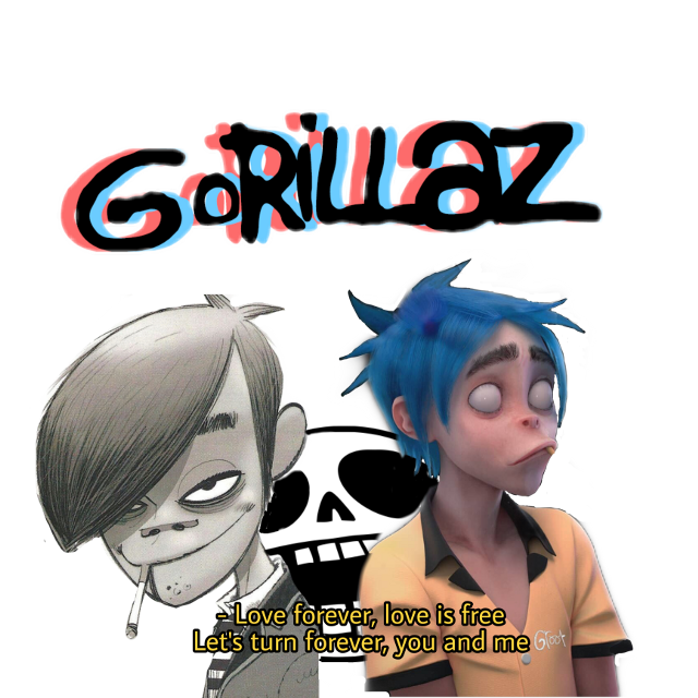 Just made this edit hope you like it its the younger version of #stuartpot and the older #stuartpot #gorillazfreetoedit #gorillaz2d #edits