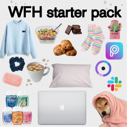 freetoedit starterpack meme wfh moodboard