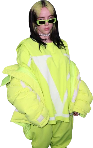 #billie #billieeilish #eilish #green #award #show #sticker #colors #picsart #glasses #freetoedit