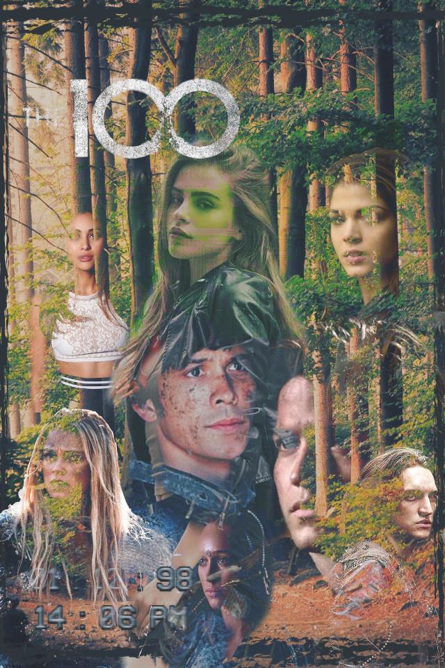 #freetoedit #the100 #ravenreyes #bellamyblake #octaviablake #clarkegriffin #johnmurphy #lexakomtrikru #finncollins #beckscooper