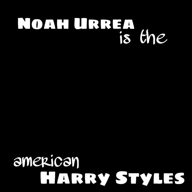 #NoahUrrea #AmericanHarry #freetoedit