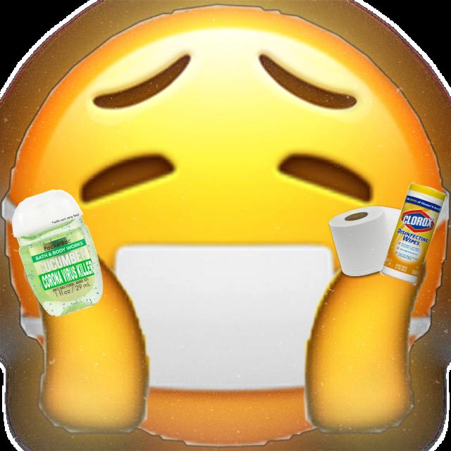 #freetoedit corona Emoji, stay safe! ❤️