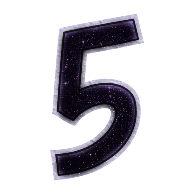 #5 #five #numbers