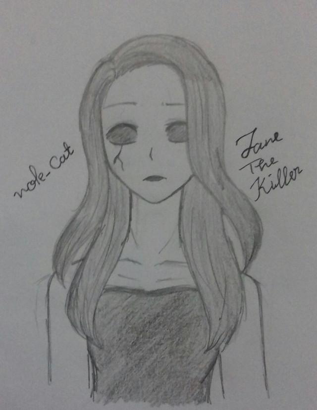 #mydraw #janethekiller #creepypasta