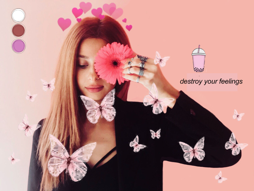 #freetoedit #pink #mauraedit #butterfly  #srcpinkbutterflies #createfromhome #stayinspired