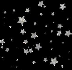 freetoedit stars silver glitter