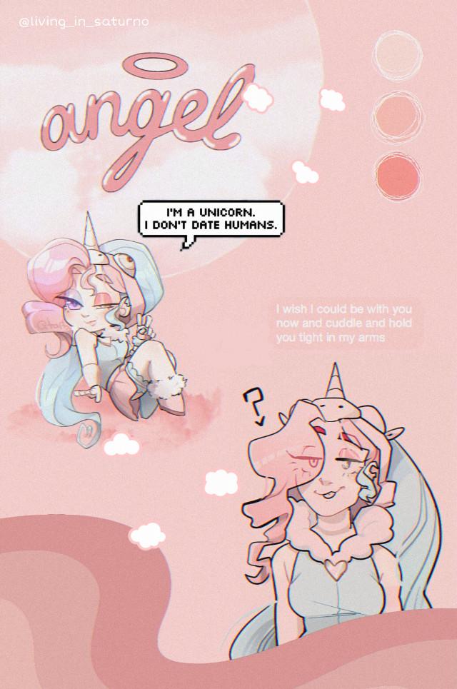 #villainous  #heroic #clemencia  #demencia  #alternativeunivers #pinkaesthetic  #unicorn  #angel  #sweetgirl #freetoedit #wallpaper #background  #pinkwallpaper #pinkclouds