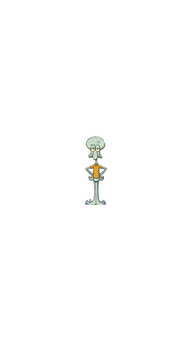 #freetoedit #background #cute #squidward #spongebob #interesting #wallpaper #green #white