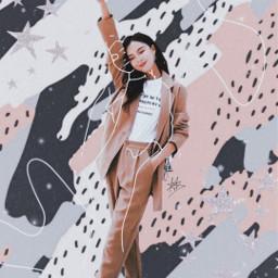 freetoedit girl girlpower asian korean