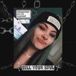 freetoedit goth egirl grunge gothgirl