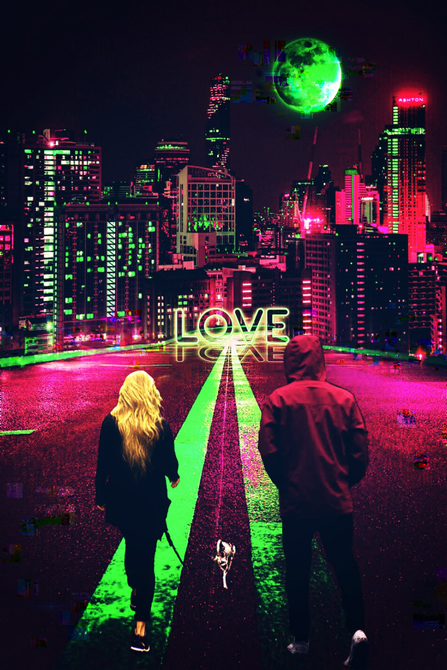 #freetoedit #neon #love #bigcity #nightcity