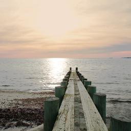 freetoedit naturephotograpy oceanview pier serenity
