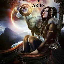 aries zodiacsign astrology mycreation imaaries freetoedit