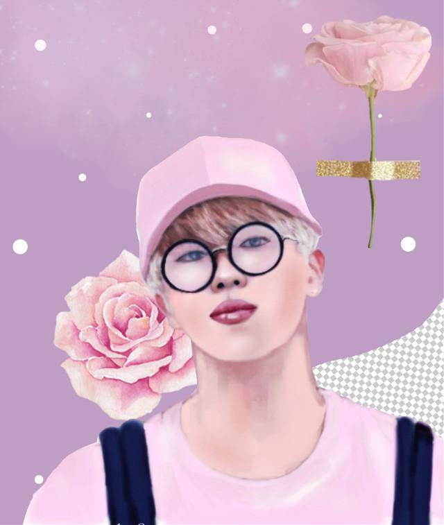 #freetoedit #picsart #kpop #jimin #kpopedit #drawing #createfromhome #pink #remix #remixit #eckpopaesthetic #kpopaesthetic
