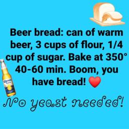 freetoedit beer bread recipe yummy