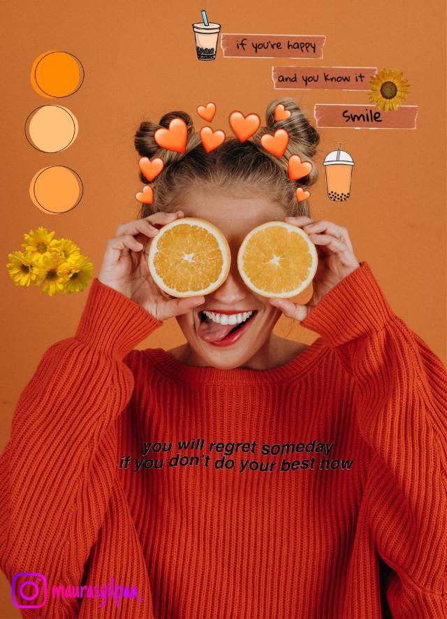 #freetoedit #orange #vibes #mauraedit #lflfffartindonesiainprocess