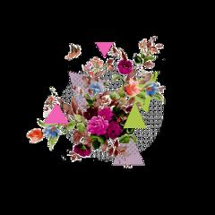 freetoedit kpop dot flowers