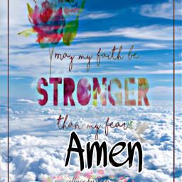 freetoedit amen strong fear text
