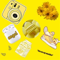 yellow aesthetic freetoedit